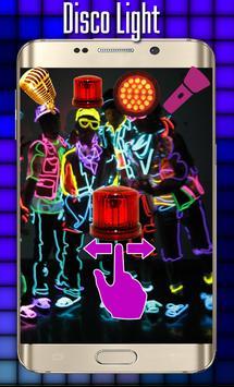 Disco light:Flashlight with Music led light screenshot 1