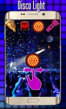 Disco light:Flashlight with Music led light screenshot 2
