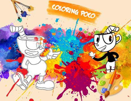 🎨 Cup Hero Coloring Page Game screenshot 4