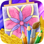 Flower Coloring for Adults icon
