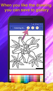 Flower Coloring for Adults screenshot 4