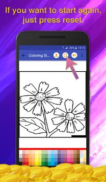 Flower Coloring for Adults screenshot 5