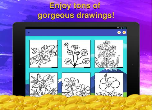 Flower Coloring for Adults screenshot 8
