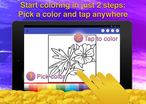 Flower Coloring for Adults screenshot 13