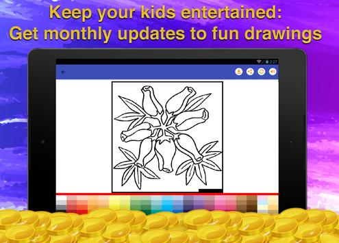 Flower Coloring for Adults screenshot 11