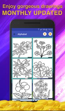 Flower Coloring for Adults screenshot 1