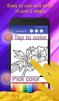 Flower Coloring for Adults screenshot 2