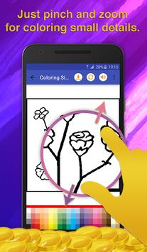 Flower Coloring for Adults screenshot 3