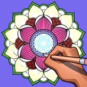 Mandala coloring 2018 ( version 2) icon