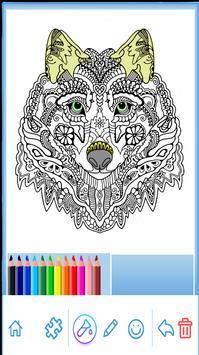 Mandala coloring 2018 ( version 2) poster