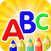 Coloring  Alphabet For Kids icon