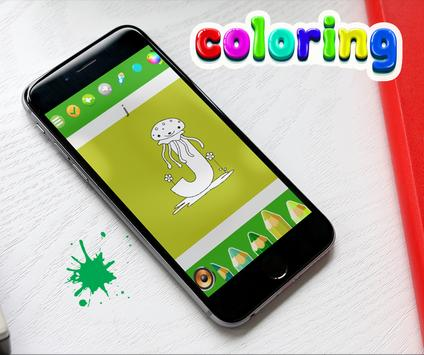 Coloring  Alphabet For Kids apk screenshot