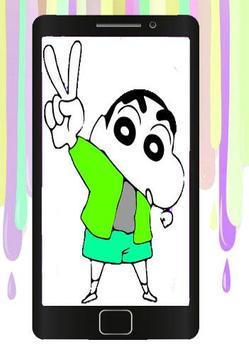 Coloring Book For Shin chan apk screenshot