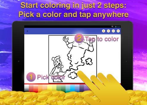 Fairy Tale Coloring Books screenshot 12