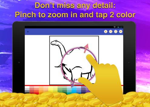 Dinosaur Kids Coloring Book screenshot 10