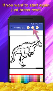 Dinosaur Kids Coloring Book screenshot 5