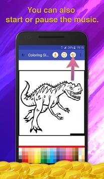 Dinosaur Kids Coloring Book screenshot 6