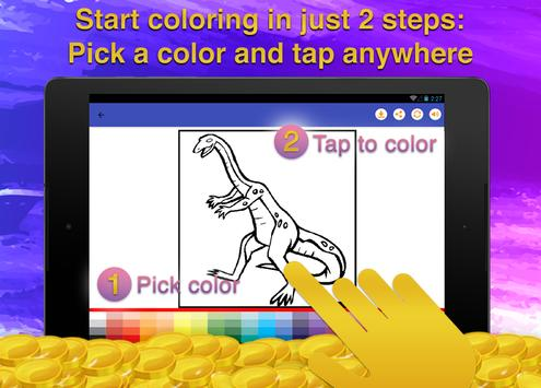 Dinosaur Kids Coloring Book screenshot 9