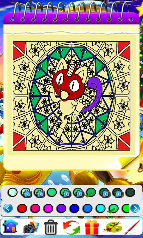 Coloring Book Poke Mandala Apk Download Free Personalization App