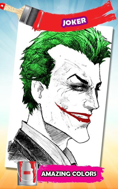 Joker Coloring Book For Android Apk Download