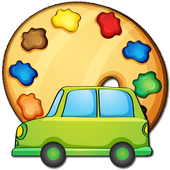 Coloring cars Game icon