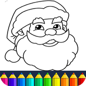 Christmas Coloring pages icon