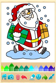 Christmas Coloring pages poster