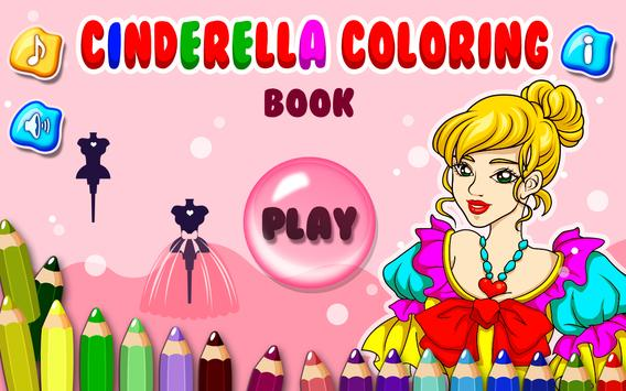 Cinderella Coloring Book Apk Screenshot