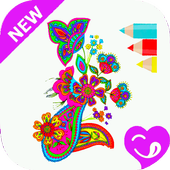 Coloring Book For Adults icon