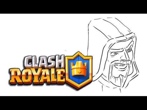 Colorear para Clash Royale captura de pantalla 2