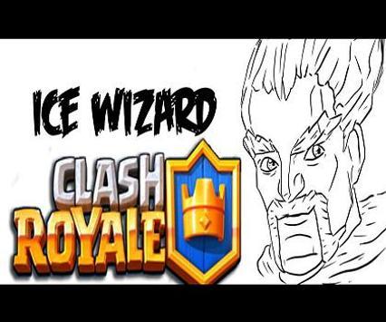 Colorear para Clash Royale captura de pantalla 3