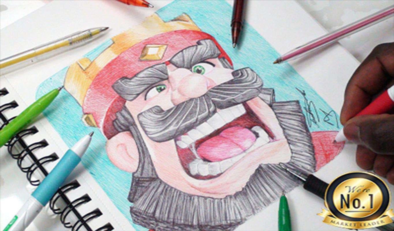Clash Royale Personajes Para Colorear: Colorear Para Clash Royale Descarga APK