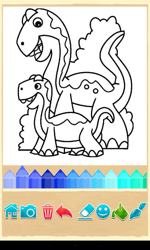 Dino Coloring Game Apk Screenshot