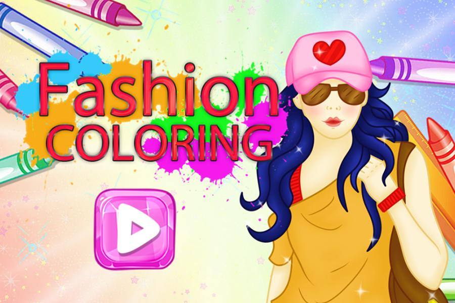 Coloring : The Fashion Book Application Pdf Online Free For Adults ... | 600x900