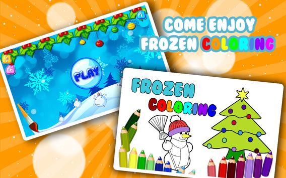 Coloring Book Frozen Game poster