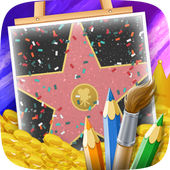 Actor Quiz Coloring Game icon
