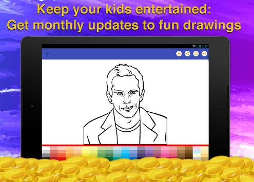 Actor Quiz Coloring Game screenshot 10