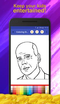 Actor Quiz Coloring Game screenshot 6