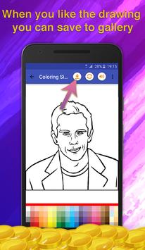 Actor Quiz Coloring Game screenshot 4
