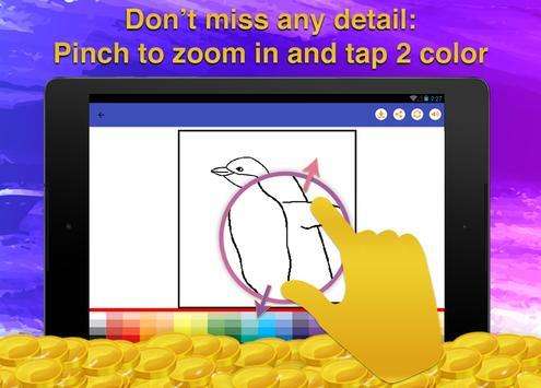 Birds Coloring Game for Kids screenshot 10