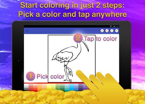 Birds Coloring Game for Kids screenshot 13