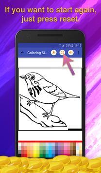 Birds Coloring Game for Kids screenshot 5