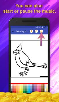 Birds Coloring Game for Kids screenshot 6