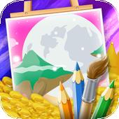 Galaxy Coloring Game icon