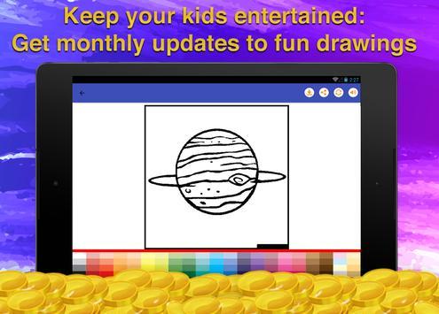 Galaxy Coloring Game screenshot 11