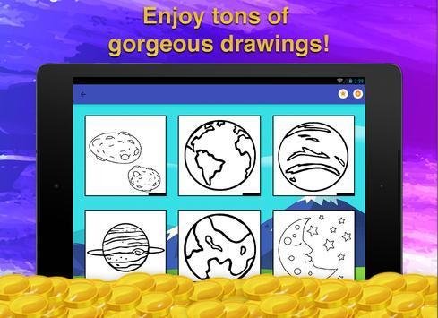 Galaxy Coloring Game screenshot 12