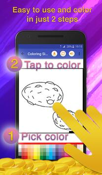 Galaxy Coloring Game screenshot 2