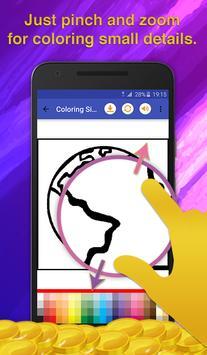 Galaxy Coloring Game screenshot 3