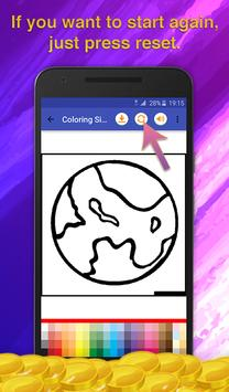 Galaxy Coloring Game screenshot 5