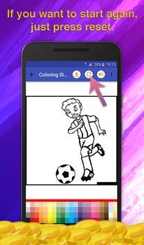 Football Kids Coloring screenshot 5